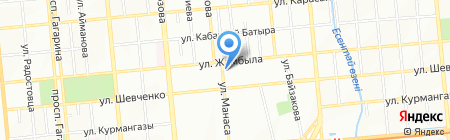 Аксиос на карте Алматы