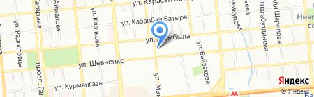 Багажник на карте Алматы