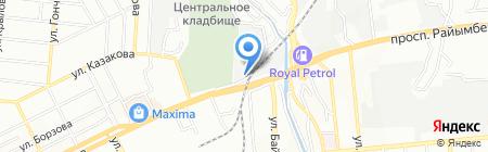 Восточный рай на карте Алматы