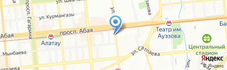 Навигатор на карте Алматы