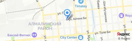 Дайана на карте Алматы