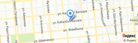Эдис-ВС на карте Алматы