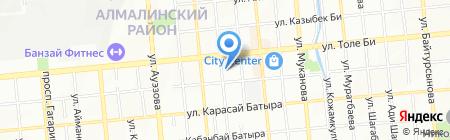 Абсолют Спец Технологии на карте Алматы