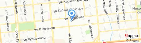 Арго-2003 на карте Алматы