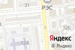 Схема проезда до компании CUBETECH в Алматы