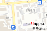 Схема проезда до компании Арго-2003 в Алматы