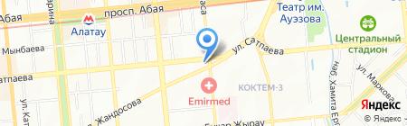 IT на карте Алматы