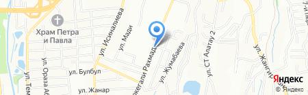 Тенгизская транспортная компания на карте Алматы