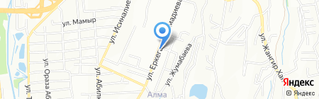 ТенгизТрансГаз на карте Алматы