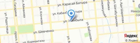 Легион 21 на карте Алматы