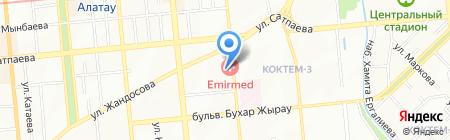 Карат на карте Алматы