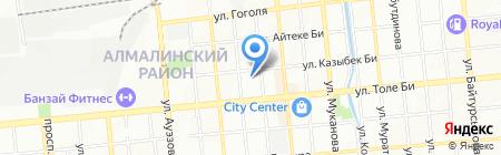 УИЯиДК на карте Алматы
