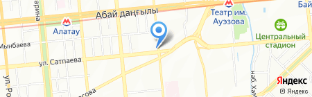 Serenity на карте Алматы