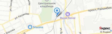 МИР АВТО на карте Алматы