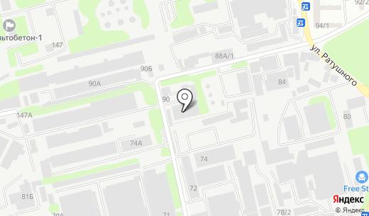 Ремс. Схема проезда в Алматы