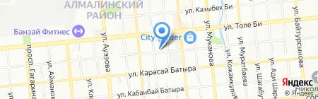 АЛМАТЫ ВОДИТЕЛЬ на карте Алматы