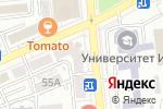 Схема проезда до компании Happy в Алматы
