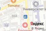Схема проезда до компании Рауза-АДЕ, ТОО в Алматы