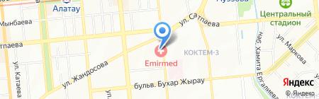 Нотариус Власенко Е.В. на карте Алматы
