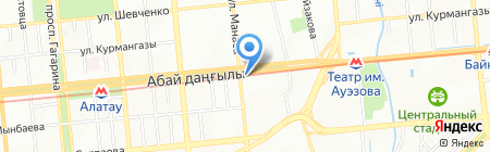 Globo Tour на карте Алматы
