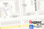 Схема проезда до компании Куаныш в Алматы