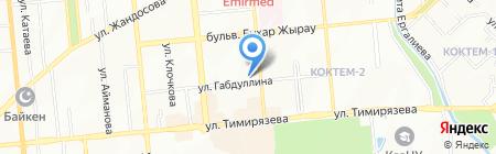 Рид на карте Алматы