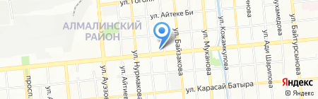Хан Ломбард на карте Алматы