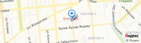СДЭК на карте Алматы
