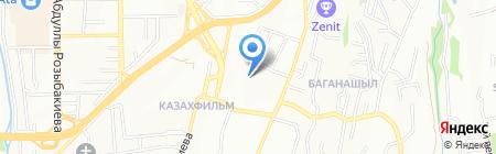 Казахфильм Авто на карте Алматы