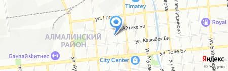 Fides-AR на карте Алматы