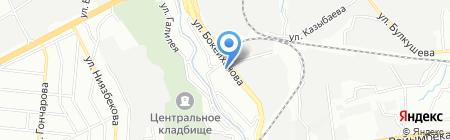 Темир-SN на карте Алматы