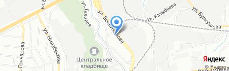 НиК на карте Алматы