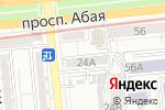 Схема проезда до компании ANS в Алматы