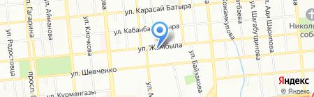 Euphoria на карте Алматы