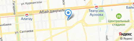 Азия-Строй на карте Алматы