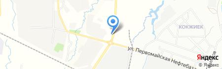 АЗС Бархан на карте Алматы