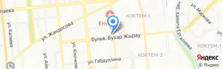 Бекс на карте Алматы