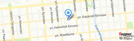 Авторская школа Жании Аубакировой на карте Алматы