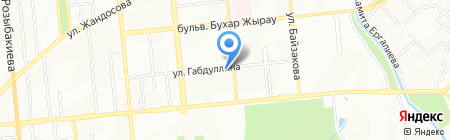 Надежда на карте Алматы