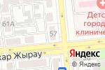 Схема проезда до компании БульВарFM в Алматы
