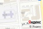 Схема проезда до компании АТОМАТ в Алматы