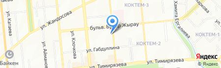 Тогжан на карте Алматы