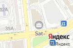 Схема проезда до компании Galaxy Translations в Алматы