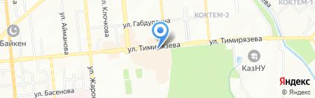 Next Tau Interinvest на карте Алматы