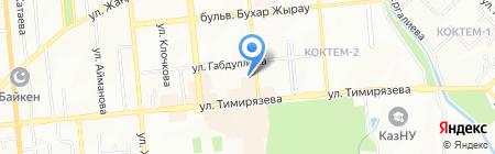 A-Sanas на карте Алматы