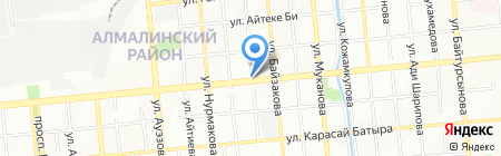 Романтика на карте Алматы