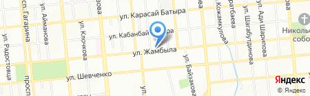 Адвокатская контора Низамединовой Н.А. на карте Алматы