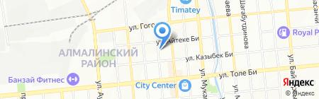 TianDe на карте Алматы