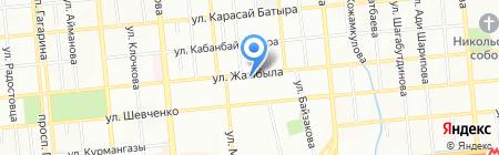 Фонамед на карте Алматы
