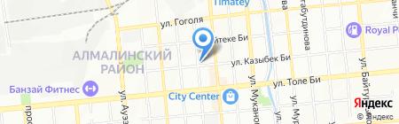 Karioka на карте Алматы